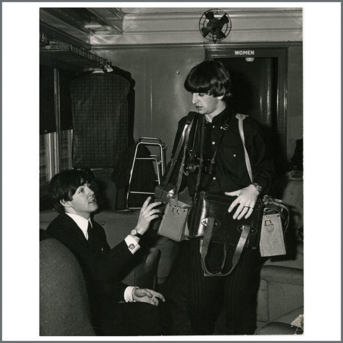Paul McCartney & Ringo Starr 1964