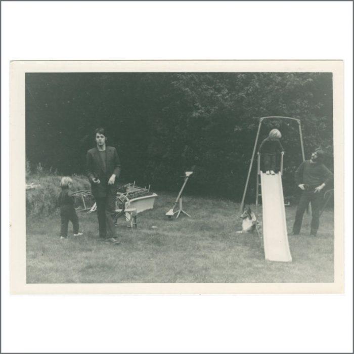 Paul McCartney & Ringo Starr 1969 Brookfield House
