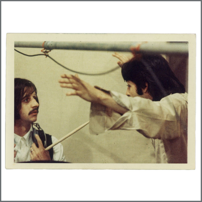 Paul McCartney & Ringo Starr 1969 Let It Be Sessions