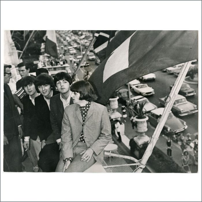 The Beatles 1965 Nice France
