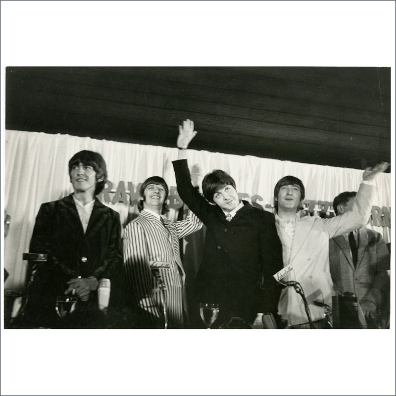 The Beatles 1966 Munich Germany
