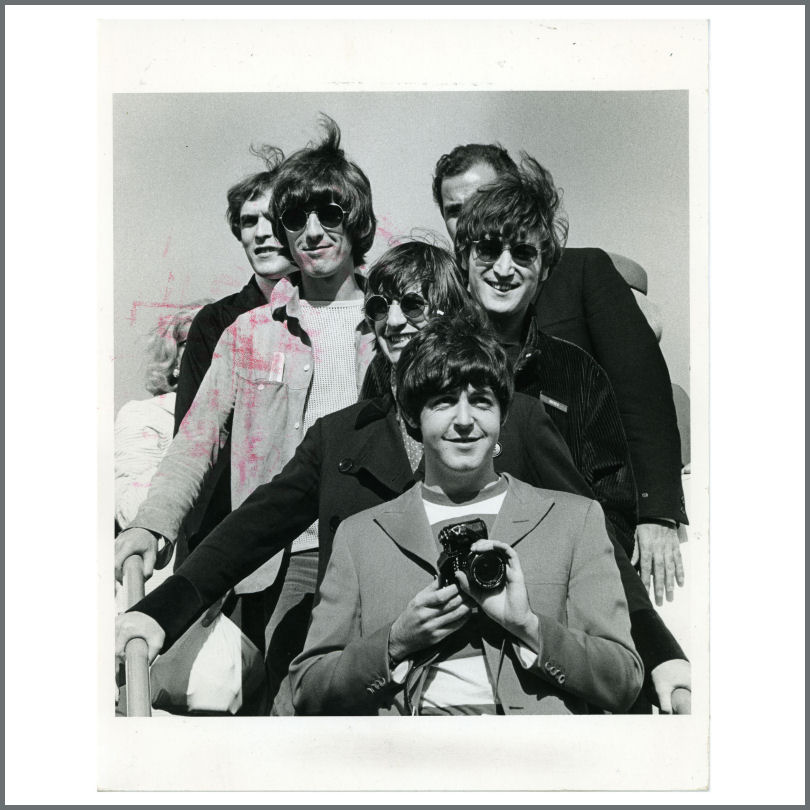 The Beatles 1966 San Francisco Airport