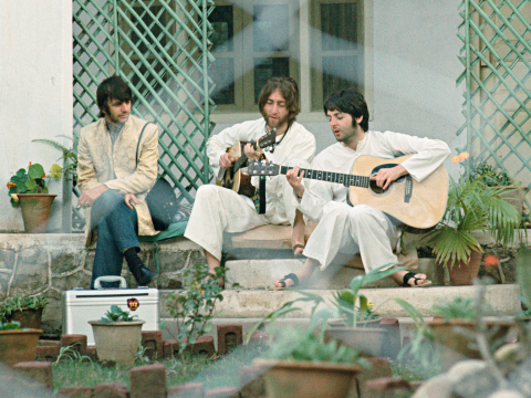 Meeting the Beatles in India by Paul Saltzman