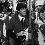 Paul McCartney on set of Ready, Steady, Go, at Television House, London, Friday 20th March 1964