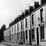 Admiral Grove, Liverpool, July 1964. No. 10 Admiral Grove is the family home of Beatle Ringo Starr