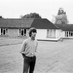 Beatle George Harrison at home in Esher 17th July 1964