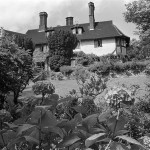 View of John Lennon's new home, Kenwood, St. George's Hill, Weybridge, 13 July 1964