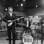The Beatles at Television House, Kingsway, for an appearance on the television Show Ready, Steady, Go 20 March 1964