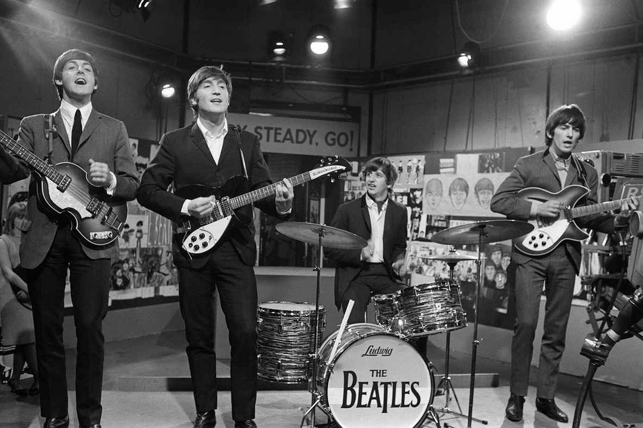 18 Images From 1963 1964 Beatles Archive