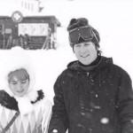 John took a trip to St Moritz in Switzerland with Cynthia