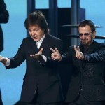 Paul McCartney, Ringo Starr Reunite on Grammys Stage