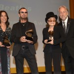 Olivia Harrison, Yoko Ono, Ringo Starr Grammy 2014