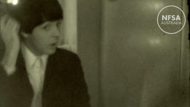 unseen footage og the beatles 1965